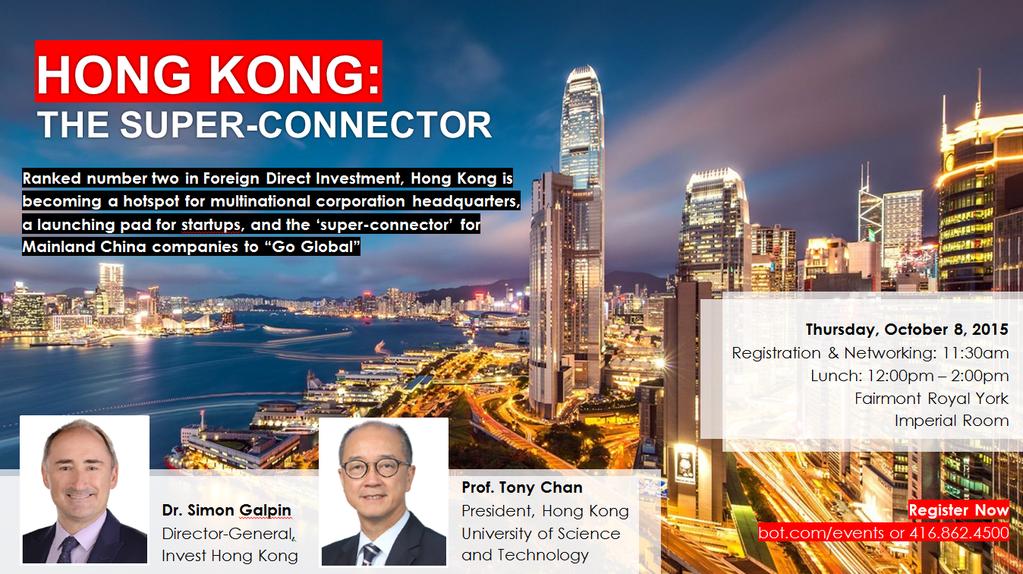 Hong Kong: The Super-Connector