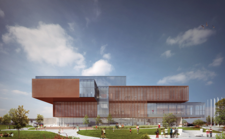 Currently under construction, the Remai Modern Art Gallery of Saskatchewan will replace Saskatoon's Mendel Art Gallery.