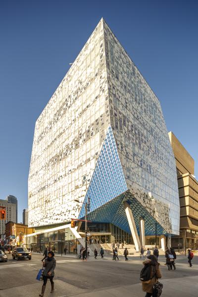 Ryerson Rises Canadian Architect