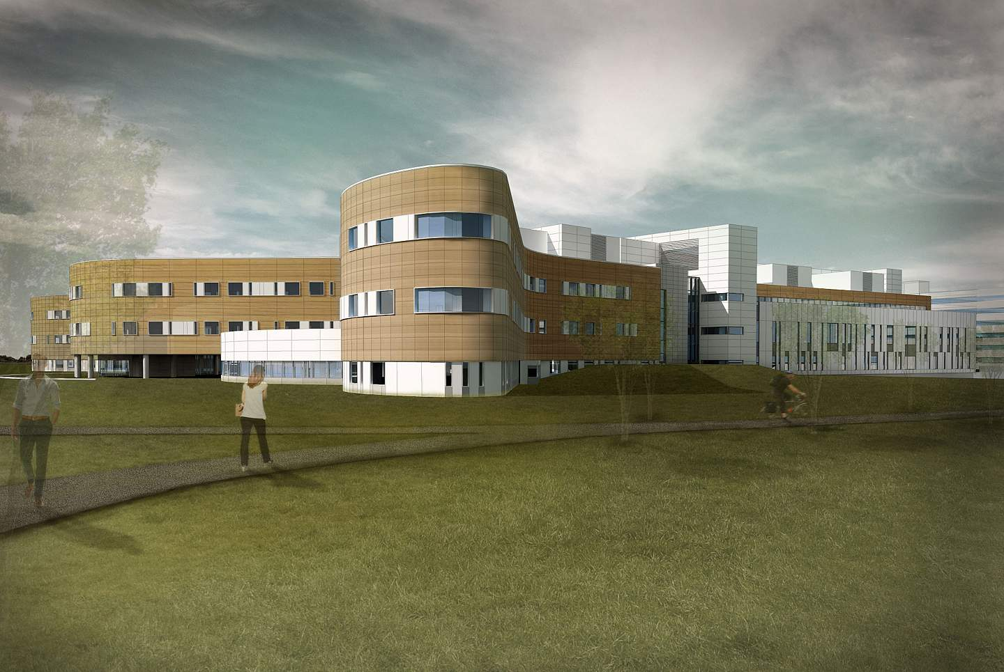 Grande Prairie Regional Health Centre by DIALOG was the winner of an inaugural CanBIM award.