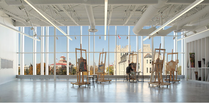 University of Manitoba ART Lab by LM Architectural Group with Patkau Architects