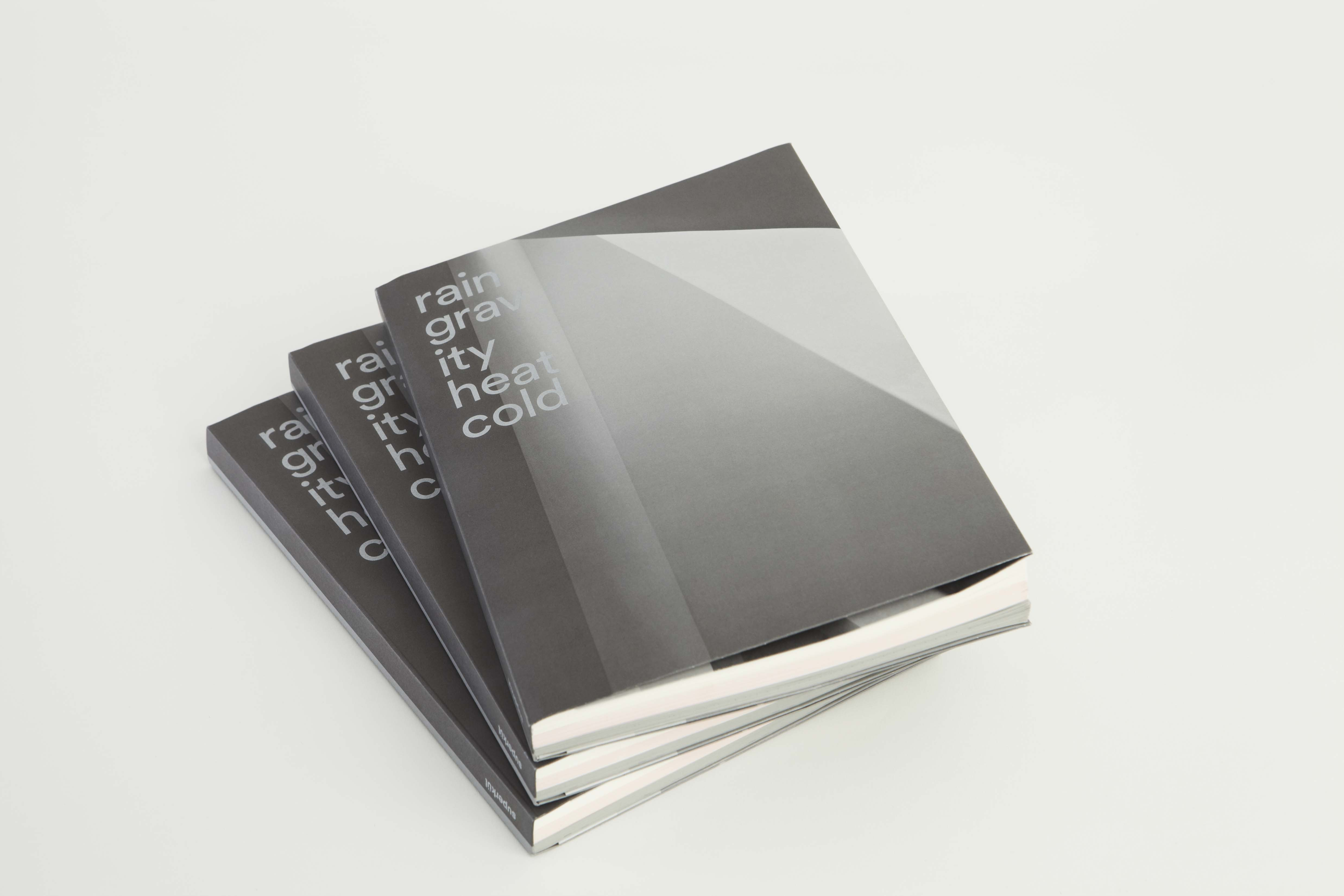 superkül's newly released monograph, Rain, Gravity Heat, Cold