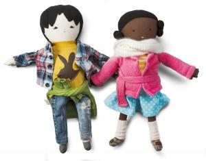 Dolls $175-$185 by Mirit Cohen Essel, bubynao
