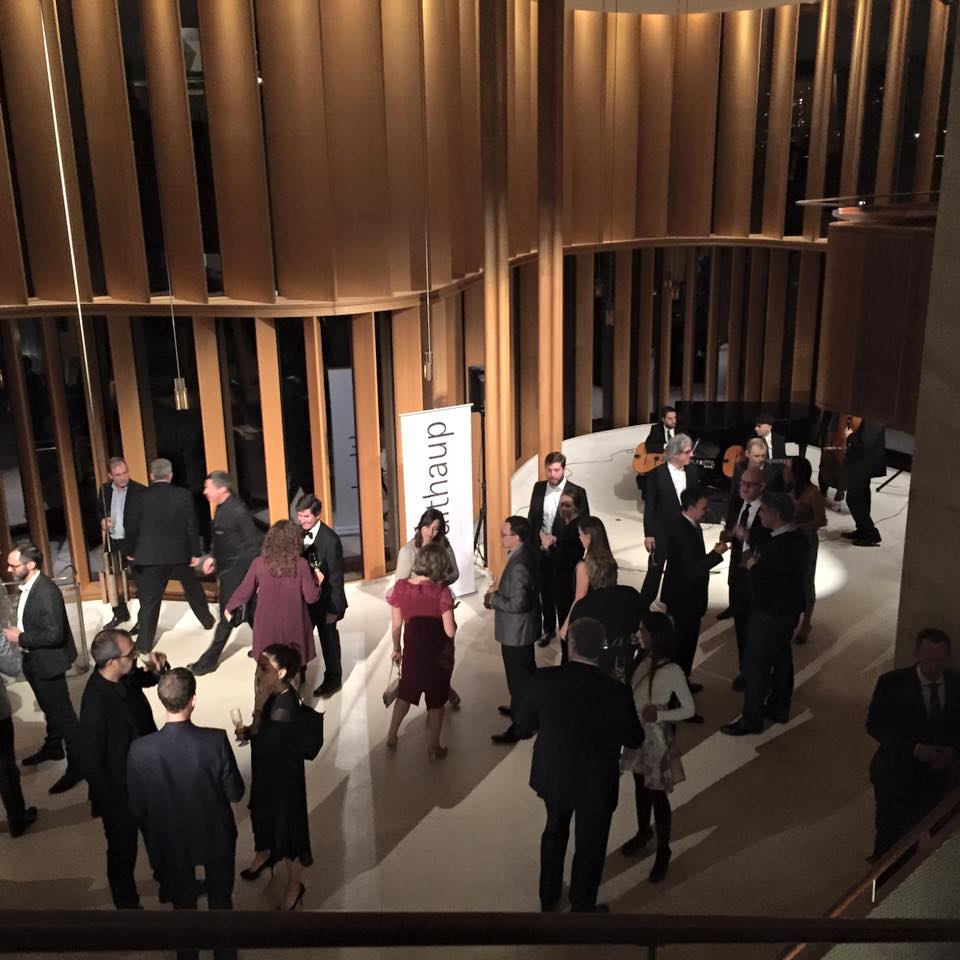 Canadian Architect and Canadian Interiors winners at a private reception at Integral House in Toronto (Photo: Johanna Hurme)