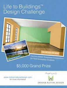 Life to Buildings Design Challenge Poster