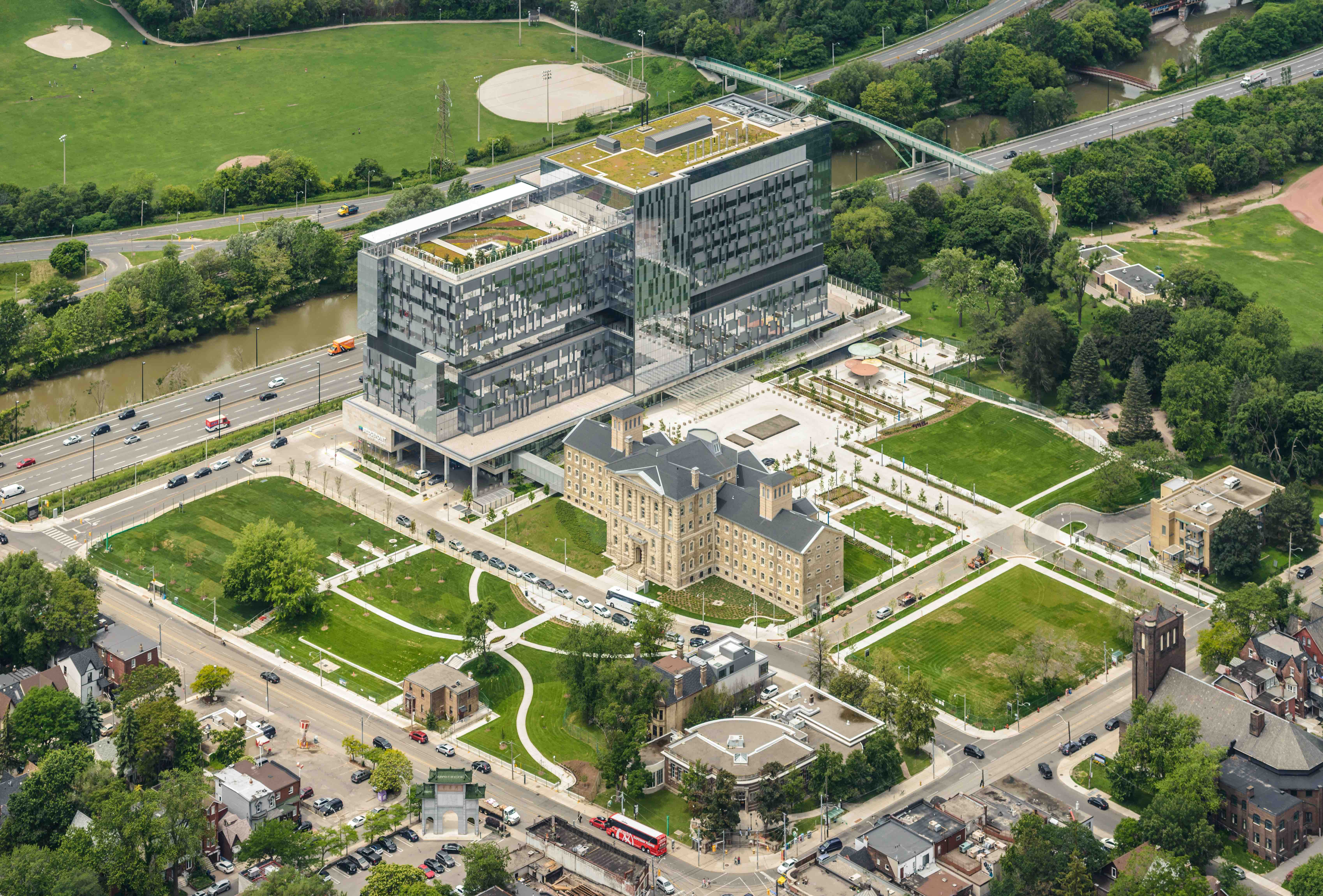 Bridgepoint Hospital Aerial View.jpg