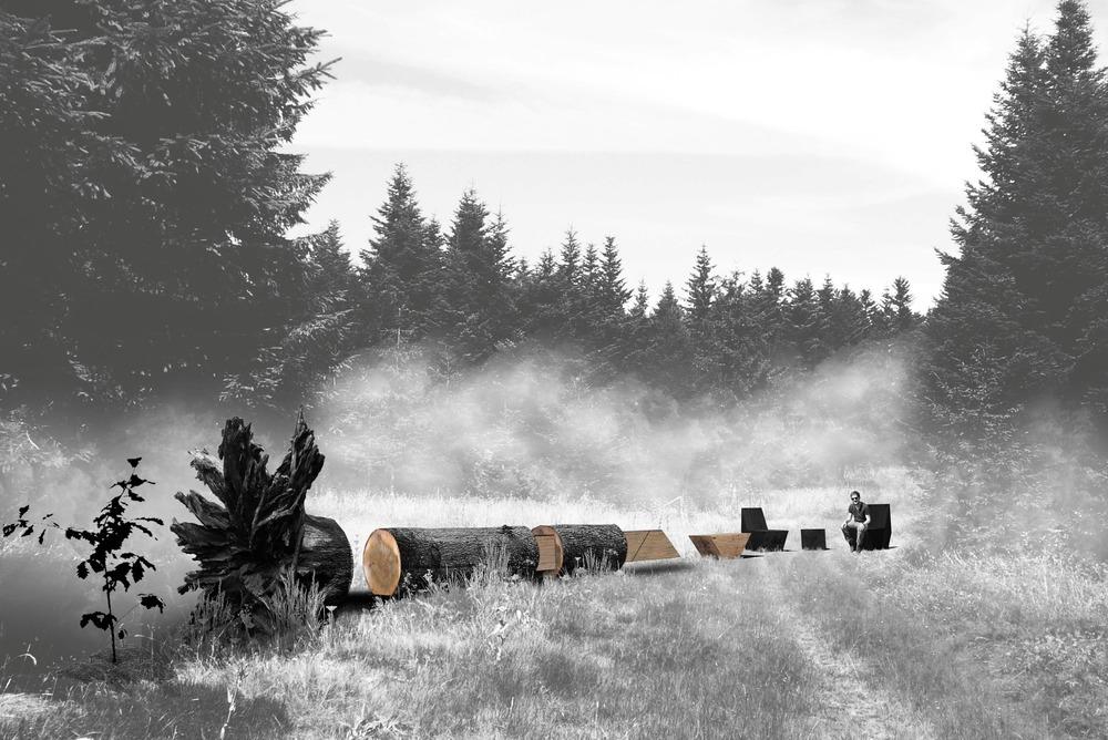 CARBONE by  Coache Lacaille Paysagistes [Maxime Coache, lansdcape architect, Victor Lacaille, landscape designer, Luc Dallanora, landscape architect] Nantes, France