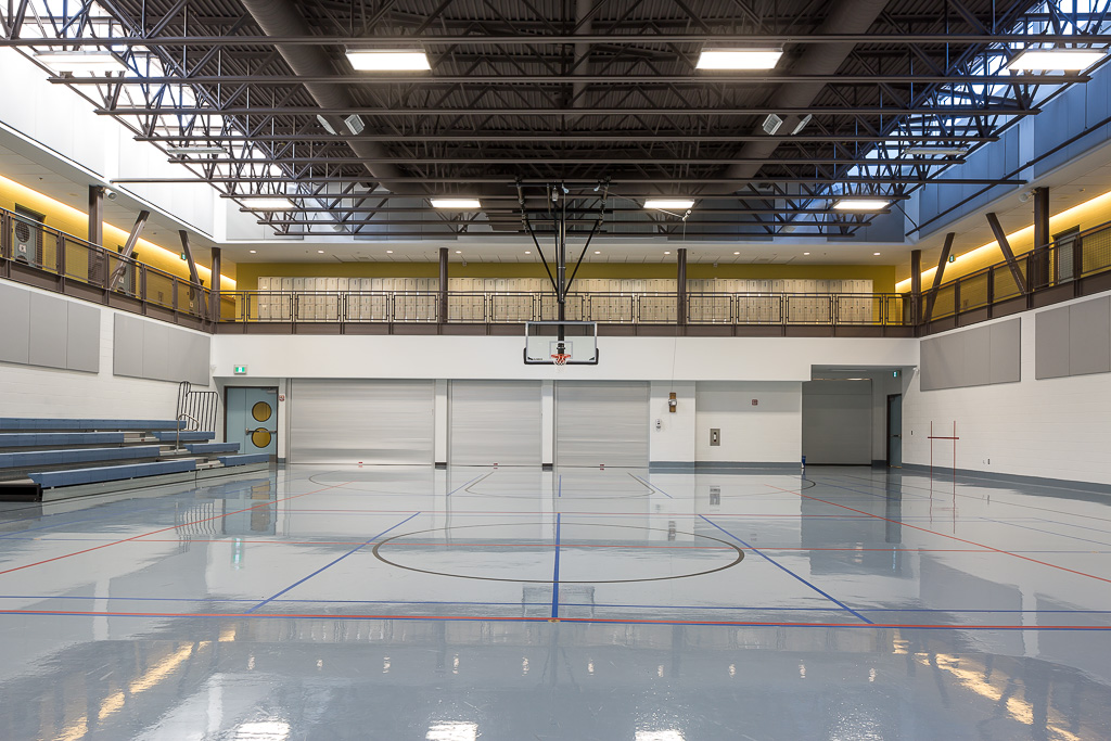 View of interior of HCMS Carleton. Photo by Doublespace.