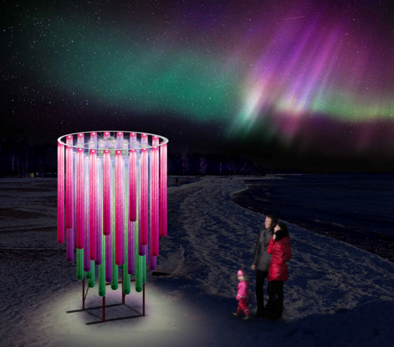 Aurora Borealis by Laurentian University students