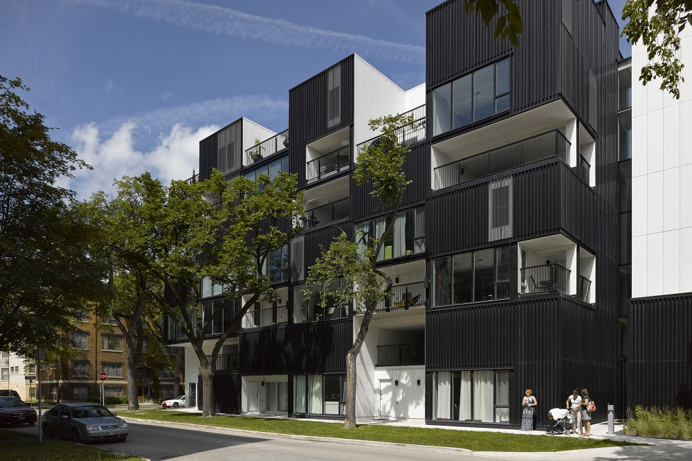 OZ Condominiums, Winnipeg, by 5468796 Architecture