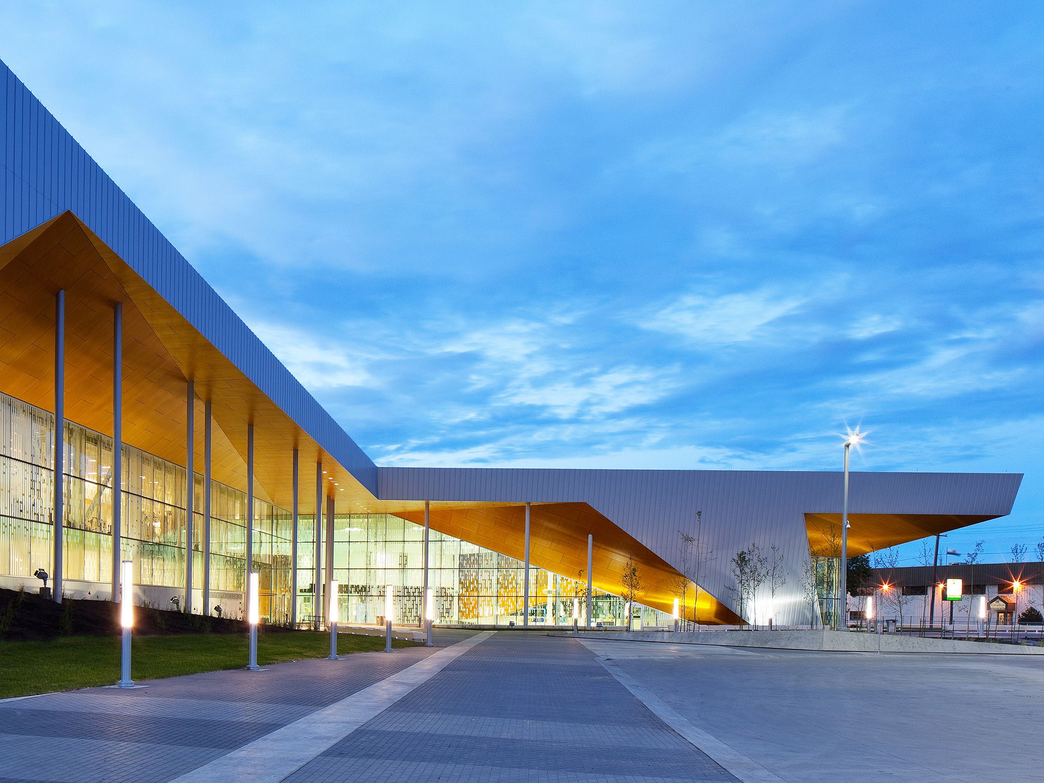 Commonwealth Community Recreation Centre. Photo: Tom Arban