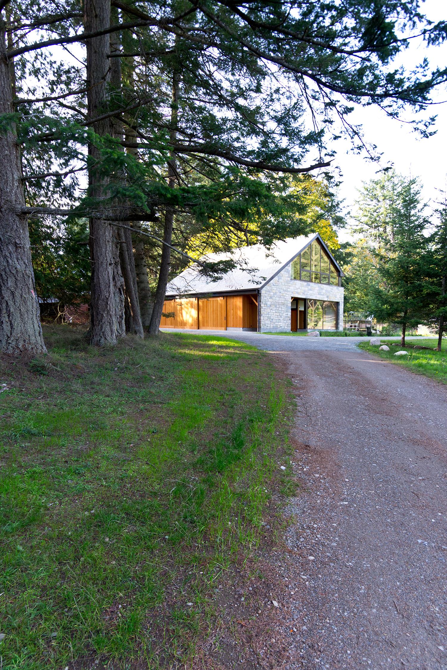 Pender Island Barn. Photo: Scott & Scott Architects