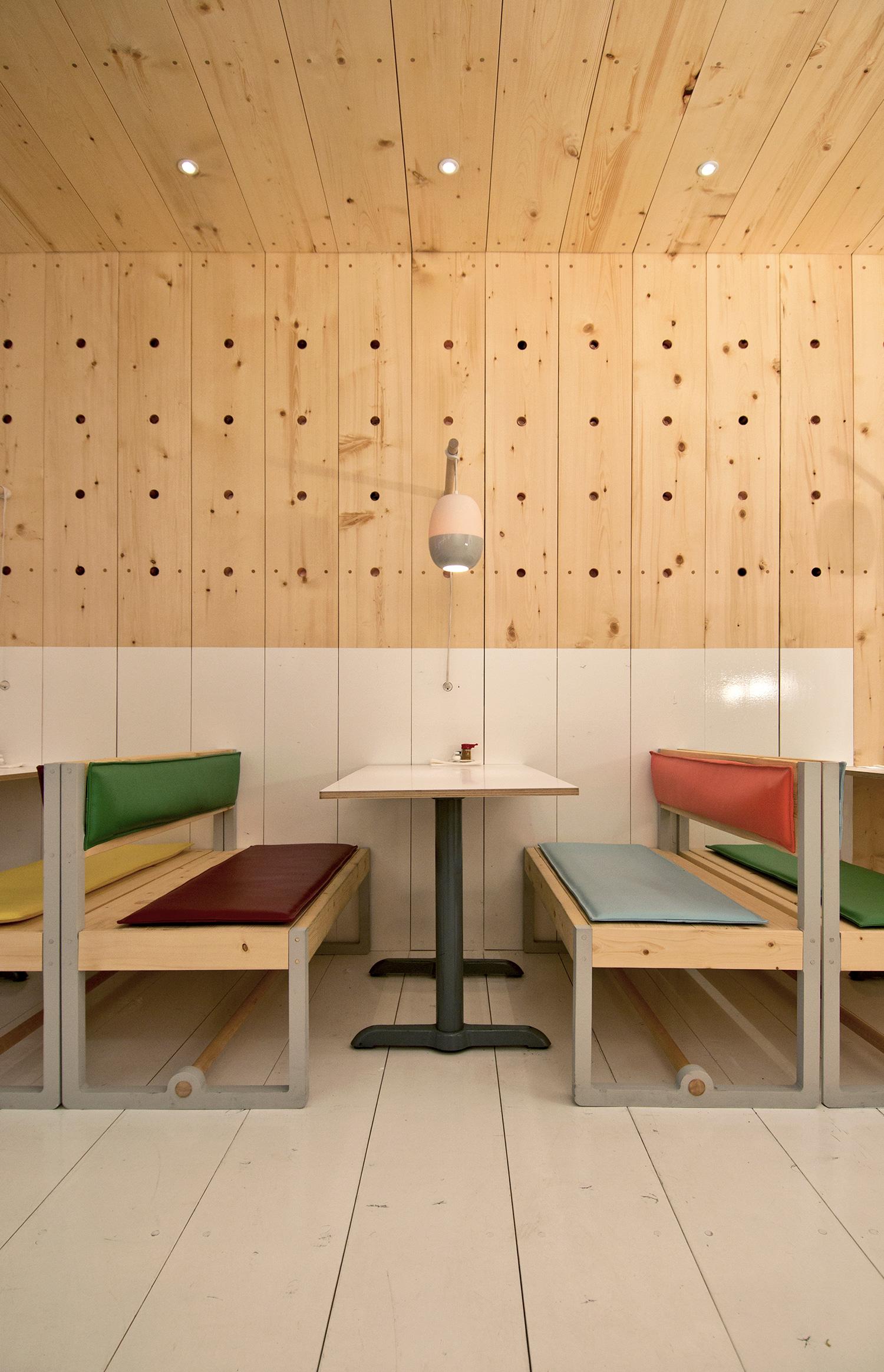 Bestie Currywurst. Photo: Scott & Scott Architects