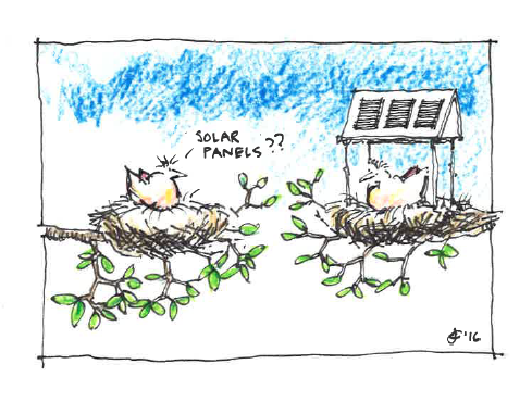 John Crace, FRAIC, is a Halifax-based independent consulting architect focused on sustainability. He has illustrated two books and published dozens of cartoons over the past 40 years. John Crace, FRAIC, est un architecte indépendant établi à Halifax qui axe sa pratique sur la durabilité. Il a illustré deux livres et publié des dizaines de dessins humoristiques au cours des 40dernières années.