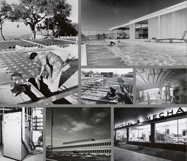 All photos from the Julius Shulman photography archive © J. Paul Getty Trust. Getty Research Institute, Los Angeles (2004.R.10)
