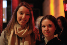 The two winners, Kristen Smith and Marie-Pier Bourret-Lafleur