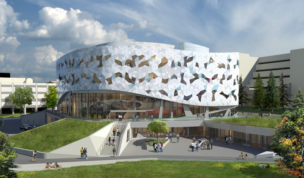 Bergeron Centre for Engineering Excellence, Scott Torrance Landscape Architect Inc.