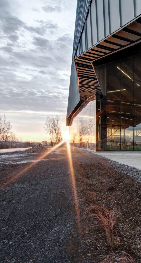 Stade de Soccer de Montréal. Saucier+Perrotte Architectes