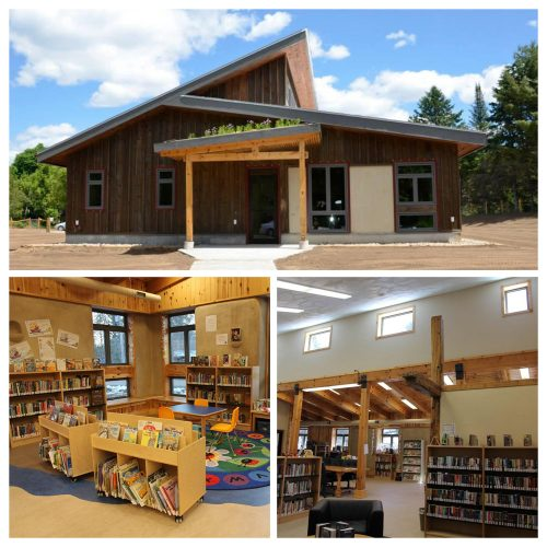 Haliburton County Public Library. Photo courtesy of Ontario Library Association