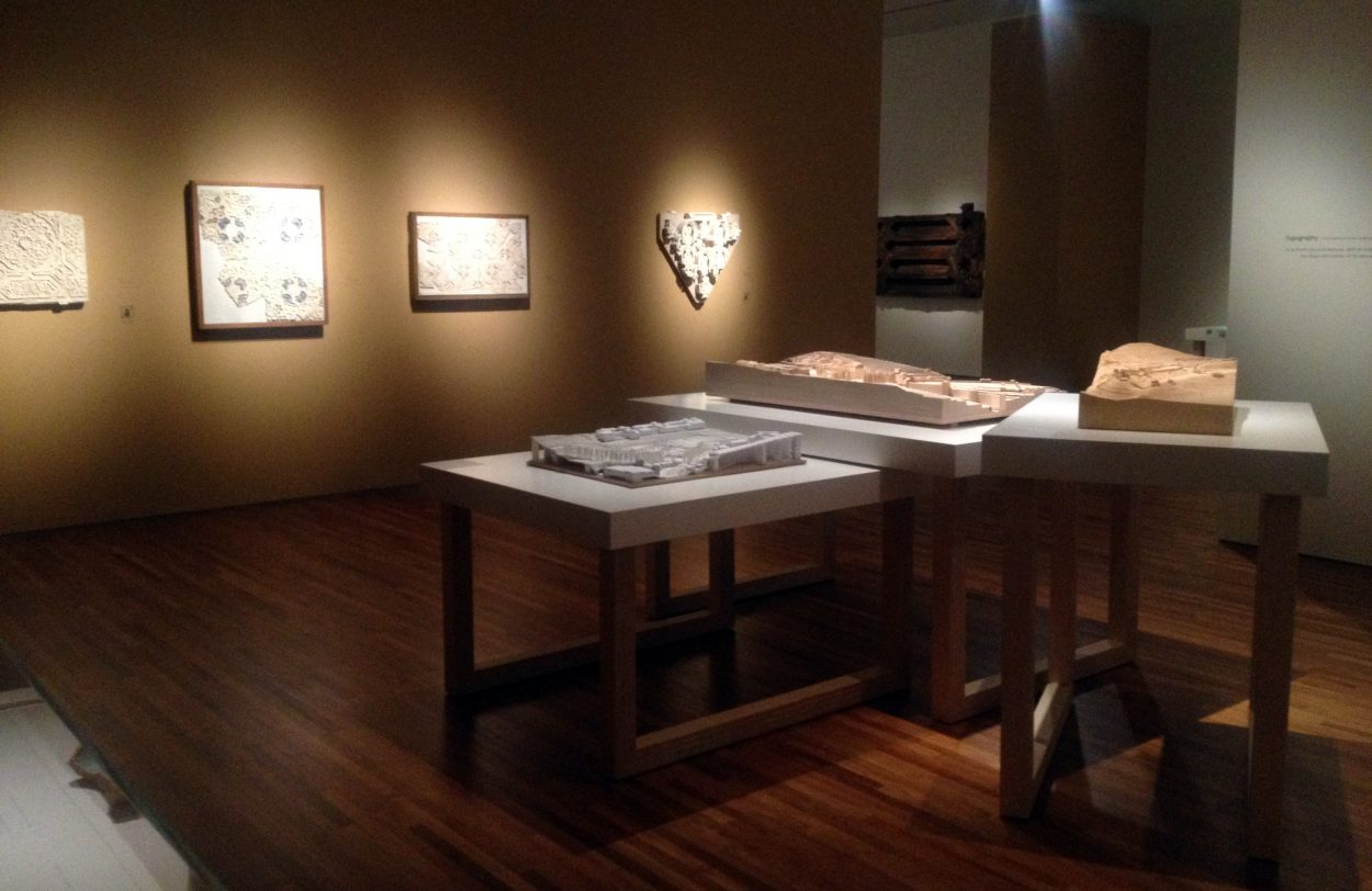 Installation view of the exhibition Álvaro Siza: Gateway to the Alhambra.