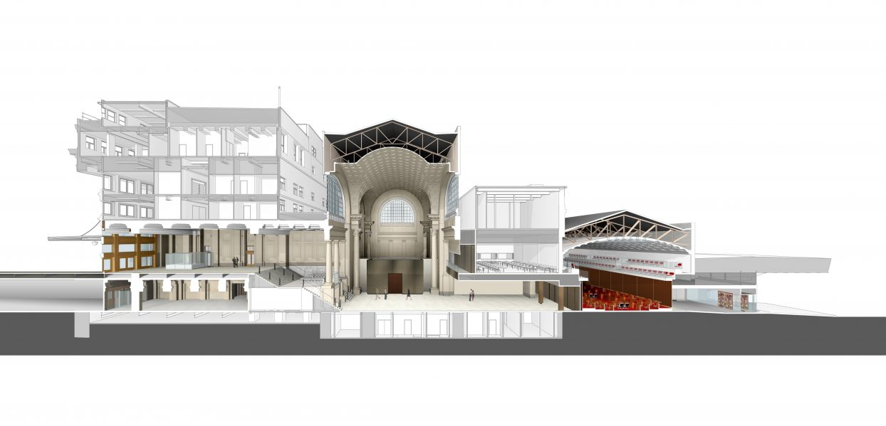 Diamond Schmitt Architects/KWC Architects to design interim Senate ...