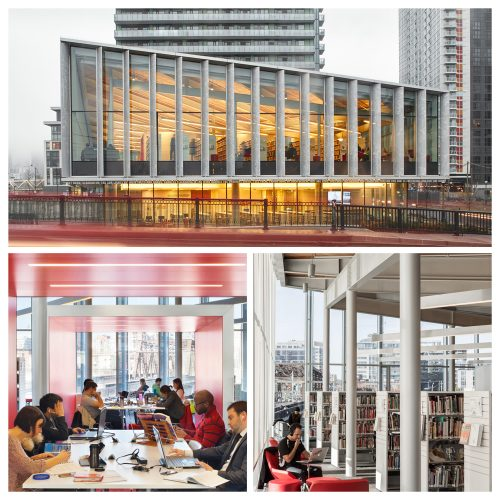 Toronto Public Library - Fort York. Photo courtesy of Ontario Library Association