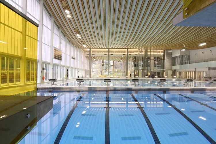 Grandview Heights Aquatic Centre, HCMA Architecture + Design. Photo courtesy of WAF