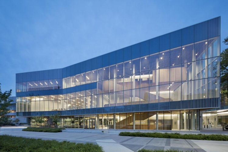 Robert H. Lee Alumni Centre, KPMB Architects | HCMA Architecture + Design Architects in joint venture. Photo courtesy of WAF