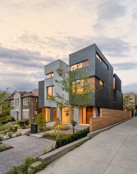 Relmar House by Architects Luc Bouliane. Photo by Bob Gundu.