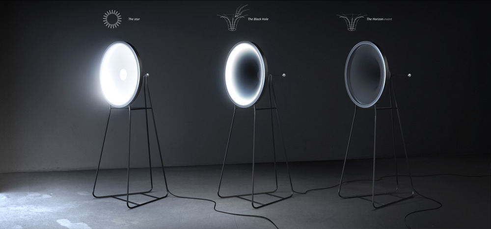 Established Winner - 'Black Hole Lamp' by Dario Narvaez + Anthony Baxter from New York, NY, USA Photo credit: L A M P