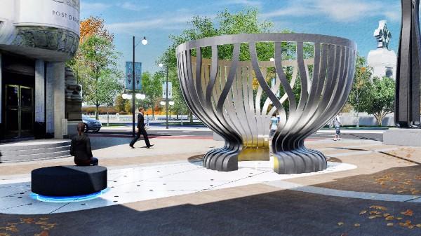Winning design:  Covit/Nguyen/NORR (Montréal QC )