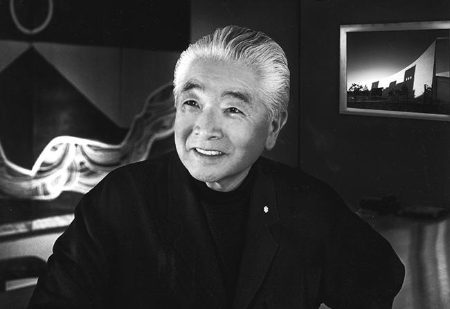 Raymond Moriyama. Photo courtesy of the RAIC.