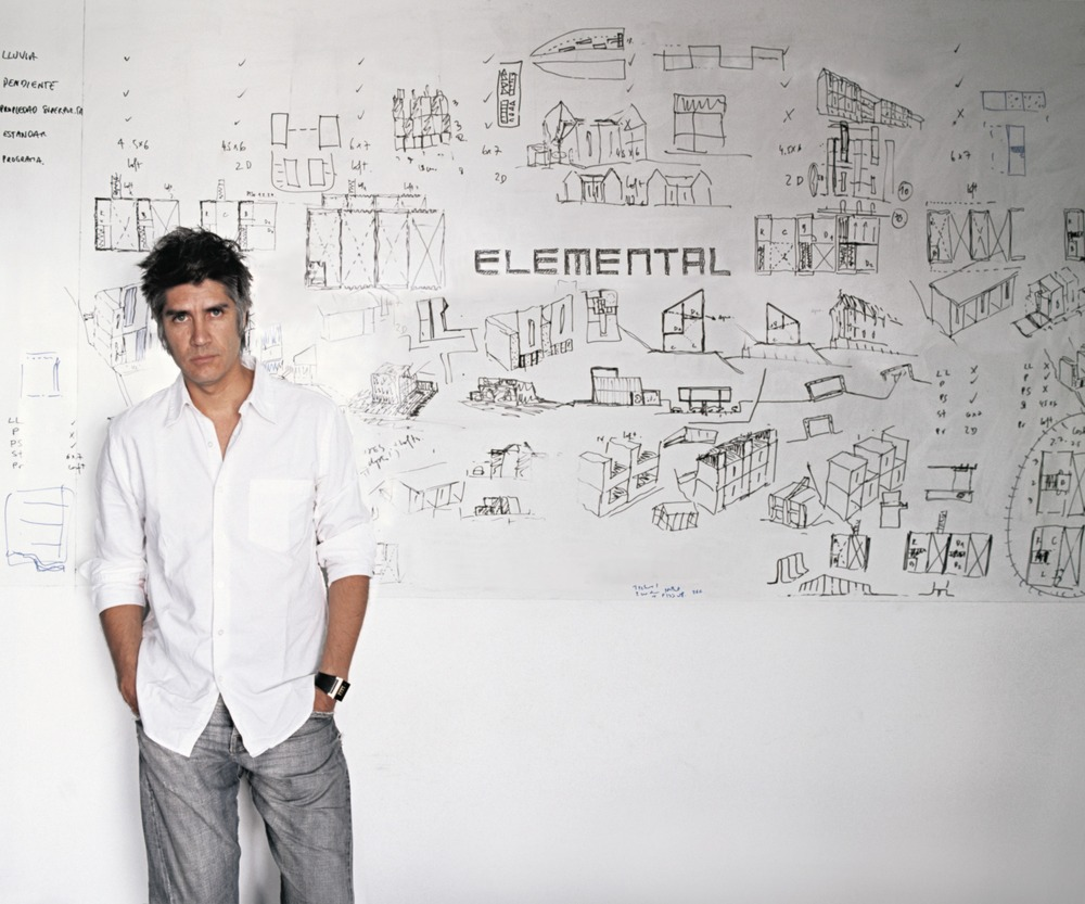 Alejandro Aravena. Photo credit: Cristobal Palma