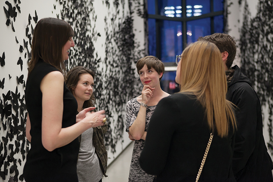 Building Equality in Architecture Toronto hosts an all-gender social at Harbourfront Centre. Photo: Scott Norsworthy