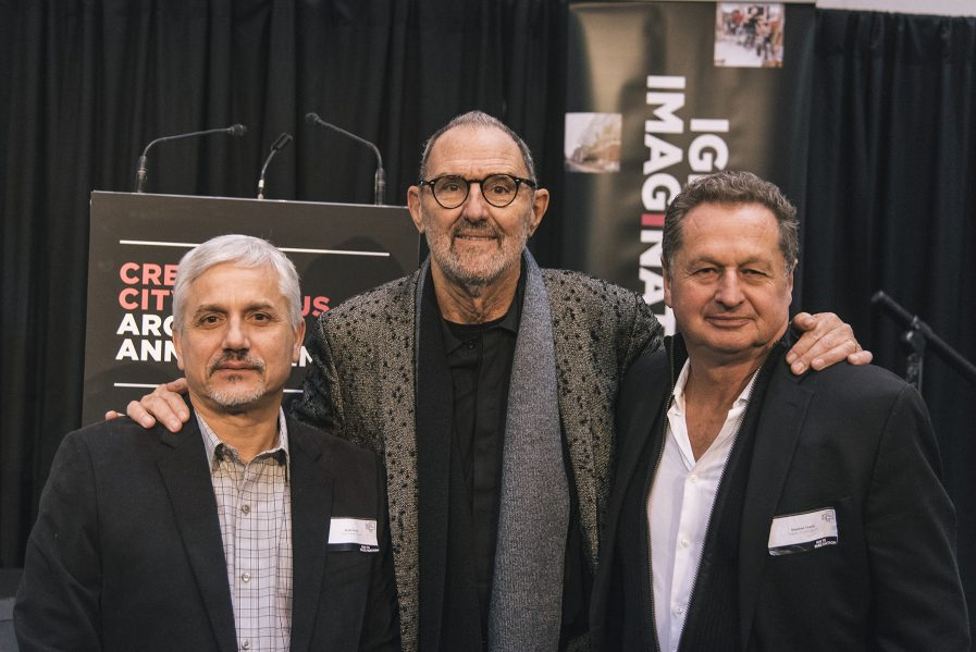 Project Architects: Brian Porter, Thom Mayne and Stephen Teeple. Photo by Jamie McMillan.