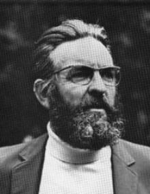 Peter Reyner Banham. Photo courtesy of the University of Buffalo.