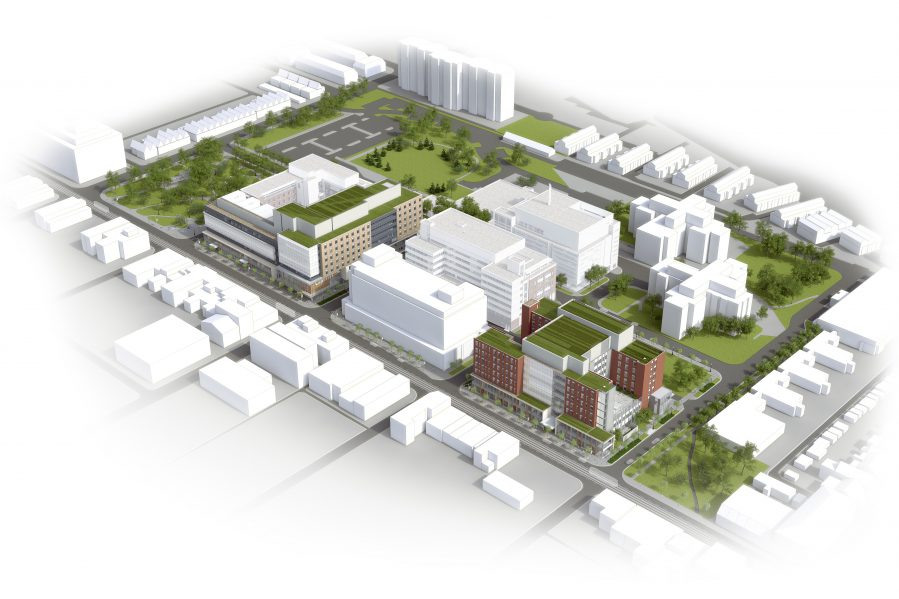 Stantec architecture part of consortium for camh project for Website build project plan