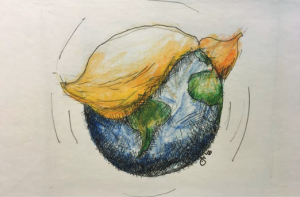 Halifax architect and cartoonist John Crace, FRAIC, reflects on culture and the environment under a Trump presidency.