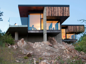 Friesen Wong House by D'Arcy Jones Architecture Inc. Photo: Undine Prohl
