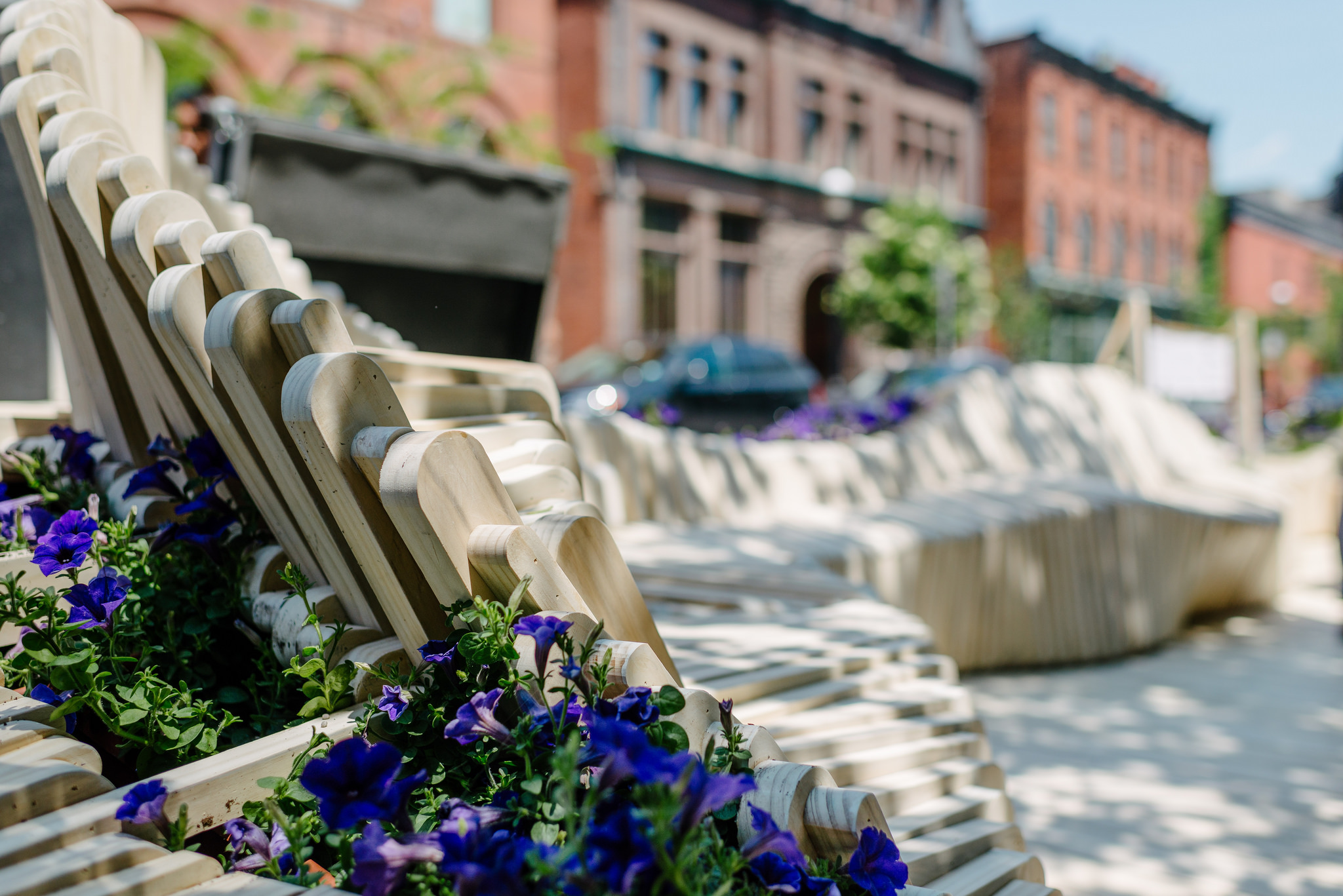 The Elm Street parklet, photo via Ryerson DAS