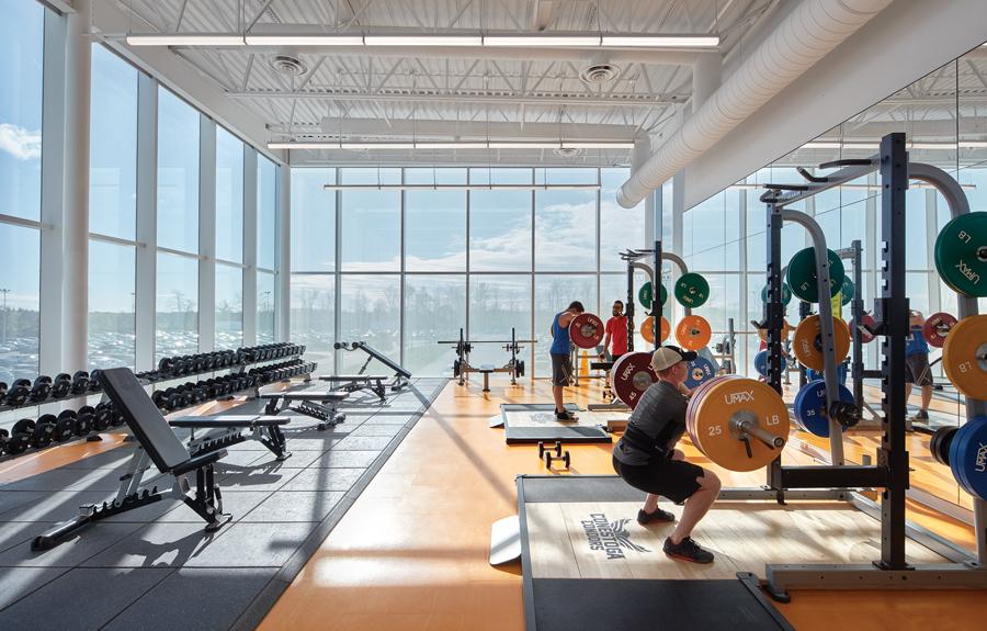Conestoga College Recreation Centre, Ktichener, MJMA