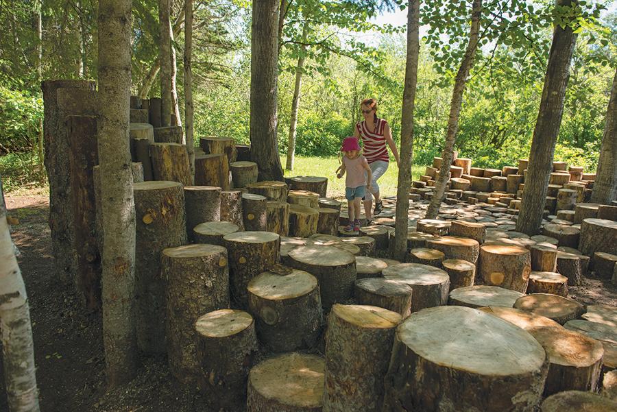 Reford Gardens, Woodstock