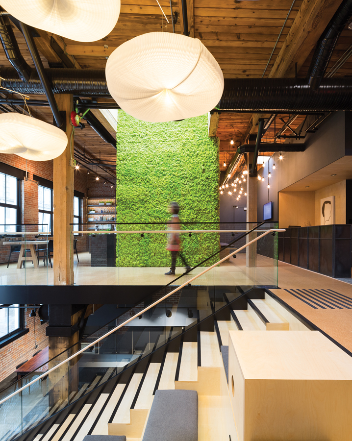 Slack Technologies Inc. Vancouver office. Photo: Ema Peter